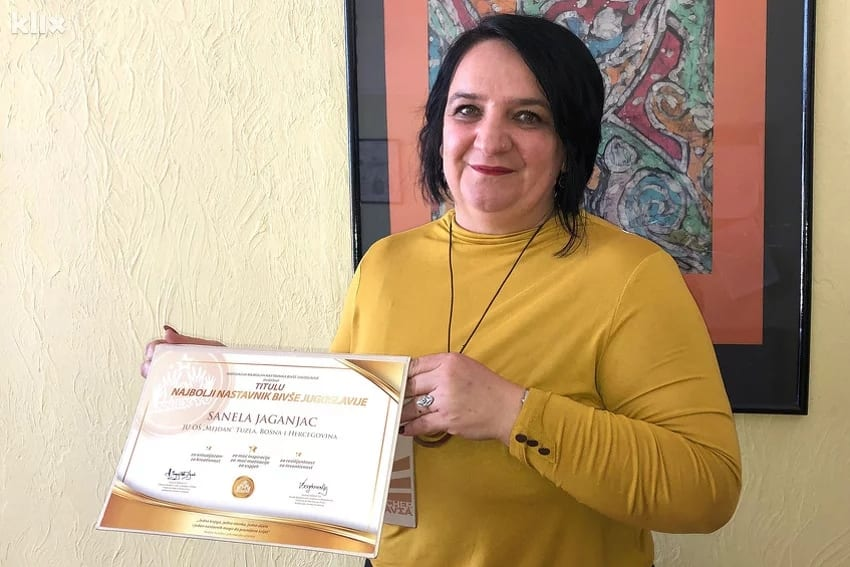 Priznanje za prvu inkluzivnu učiteljicu u BiH: Sanela Jaganjac među najboljim nastavnicama