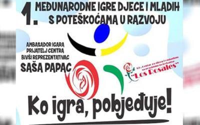Mostar: Prve međunarodne igre za djecu i mlade s poteškoćama u razvoju