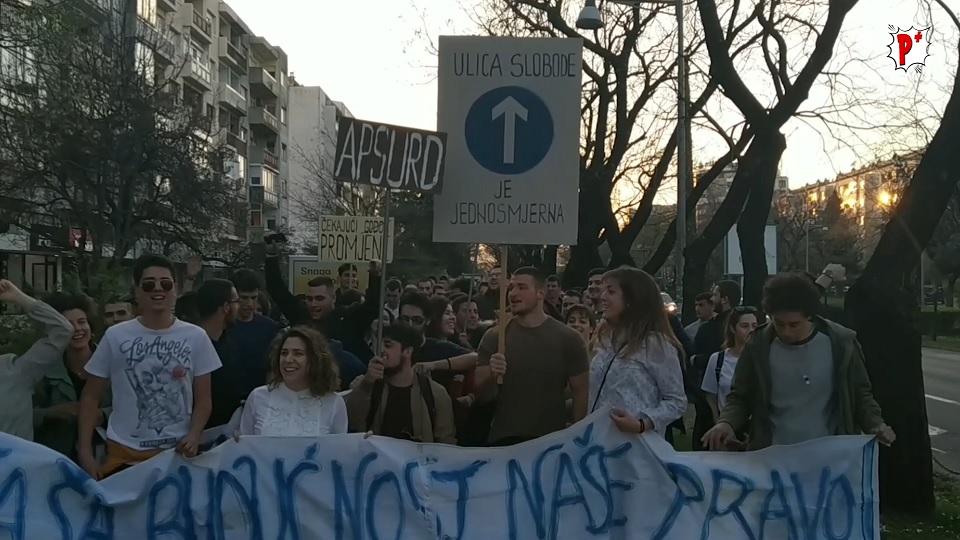 Crnogorski studenti se odupiru