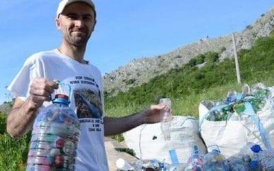 Iz Neretve izvadili više od 30.000 plastičnih boca, ali ih nemaju gdje reciklirati