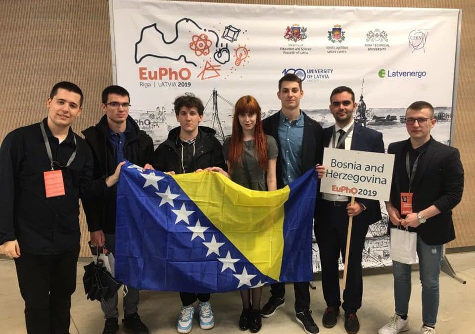 Mladi fizičari iz BiH s Evropske olimpijade iz fizike donijeli tri medalje