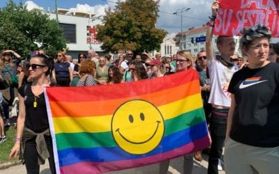 Reflections on Sarajevo's first pride parade