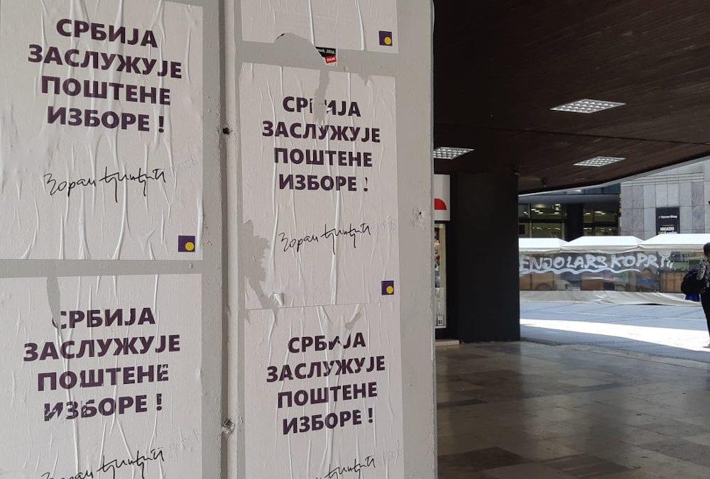 Opozicija u Srbiji najavljuje bojkot parlamentarnih izbora